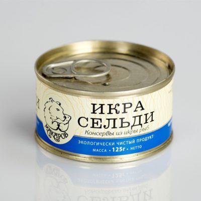 Икра сельди 125гр Макаров