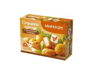 Стрипсы куриные в картофельной панировке Мираторг