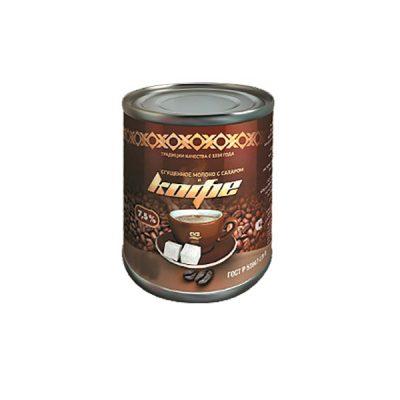 молоко сгущеное с кофе ЖБ