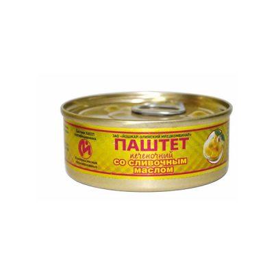 паштет со сливочным маслом