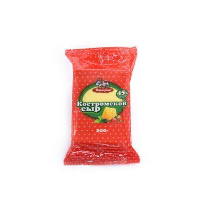 сыр костромской 200 милково