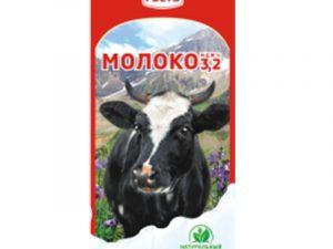 """Молоко ультрапастеризованное 3,2% """"Молочный Гость"""""""