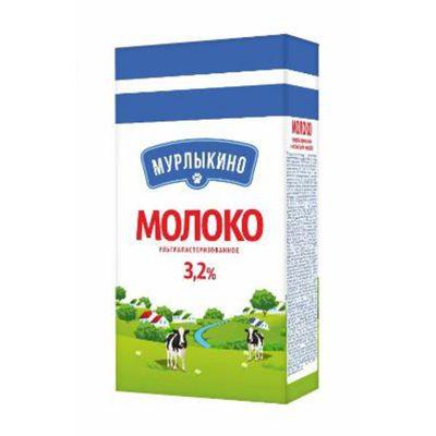 """Молоко ультрапастеризованное 3,2% """"Мурлыкино"""""""